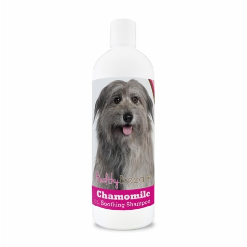 Healthy Breeds 840235199151 8 oz Pyrenean Shepherd Chamomile Soothing Dog Shampoo Perspective: front