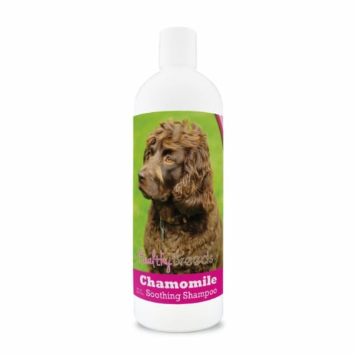 Healthy Breeds 840235199298 8 oz Boykin Spaniel Chamomile Soothing Dog Shampoo Perspective: front
