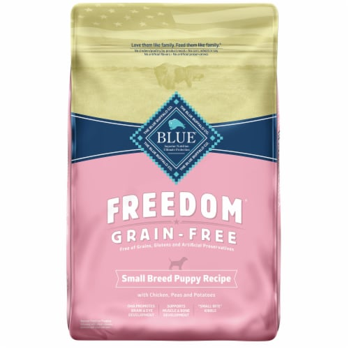 Blue Buffalo Freedom Grain-Free Chicken Small Breed Dry Puppy Food Perspective: front