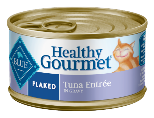 Blue Buffalo Healthy Gourmet Flaked Adult Cat Food Perspective: front