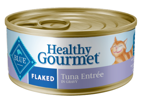 Blue Buffalo Healthy Gourmet Flaked Tuna Entree Cat Food Perspective: front