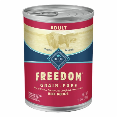 Blue Buffolo Freedom Grain-Free Recipe Dog Food Perspective: front