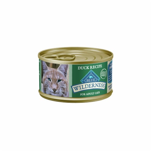 Blue Wilderness Duck Recipe Adult Wet Cat Food Perspective: front