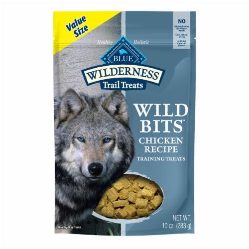 Blue Wilderness Wild Bits Chicken Recipe Training Treats Perspective: front