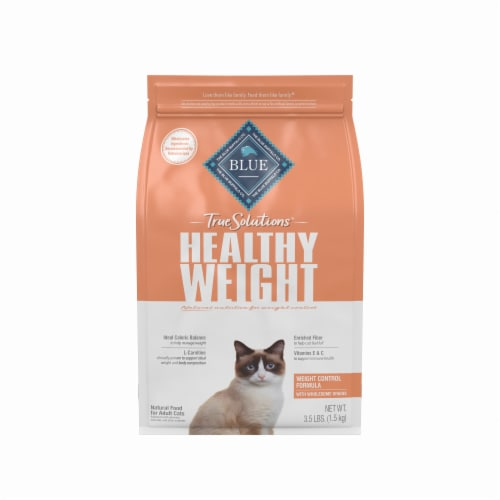 Blue Buffalo True Solutions Fit & Healthy Chicken Weight Control Formula Adult Dry Cat Food Perspective: front