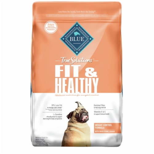 Blue Buffalo True Solutions Fit & Healthy Chicken Weight Control Formula Dog Food Perspective: front