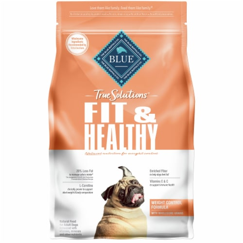 Blue Buffalo True Solutions Fit & Healthy Weight Control Formula Dog Food Perspective: front