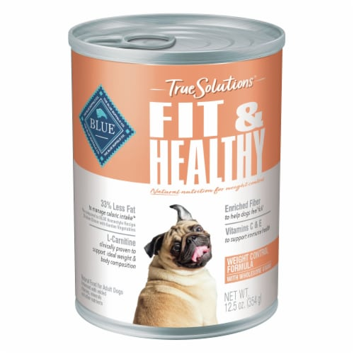 Blue Buffalo True Solutions Blissful Fit & Healthy Natural Wet Dog Food Perspective: front