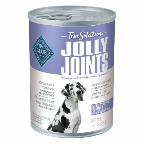 Blue Buffalo True Solutions Jolly Joints Natural Wet Dog Food Perspective: front