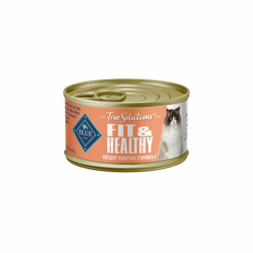 Blue Buffalo True Solutions Fit and Healthy Adult Wet Cat Food Perspective: front