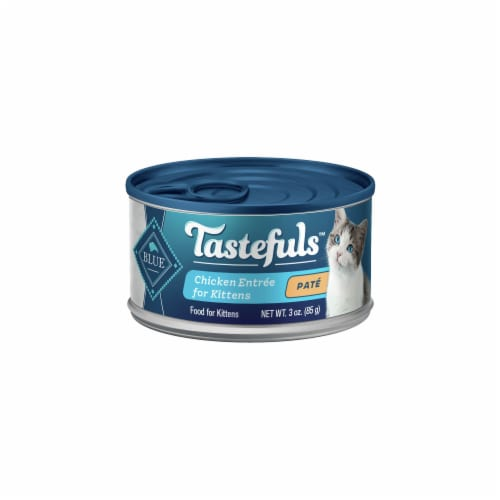 Blue Buffalo Tastefuls Chicken Entree for Kittens Pate Wet Cat Food Perspective: front