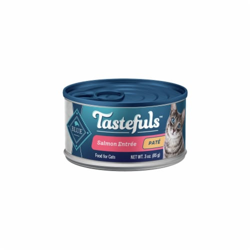 Blue Buffalo Tastefuls™ Natural Salmon Entrée Pate Wet Cat Food Perspective: front