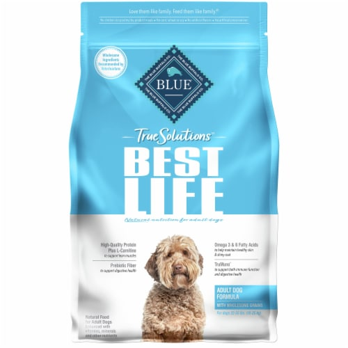 Blue Buffalo True Solutions Best Life Adult Dog Food Perspective: front