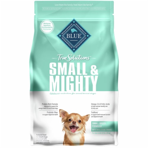 Blue Buffalo True Solutions Small & Mighty Small Breed Dog Food Perspective: front