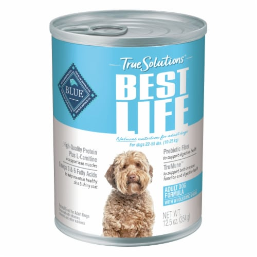 Blue Buffalo True Solutions Adult Dog Maintenance Food Perspective: front