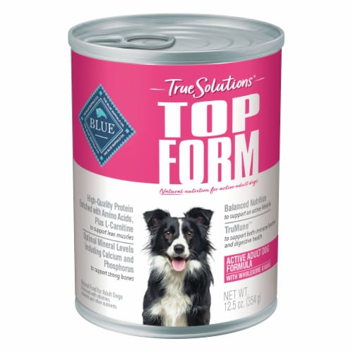 Blue Buffalo True Solutions Active Adult Dog Maintenance Food Perspective: front