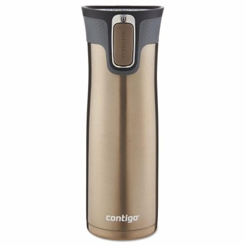 Contigo Autoseal 20 oz. Tumbler Latte BPA Free Travel Mug - Case Of: 1; Each Pack Qty: 1; Perspective: front