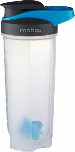 Contigo Shake & Go Fit Mixer Bottle - Carolina Blue Perspective: front