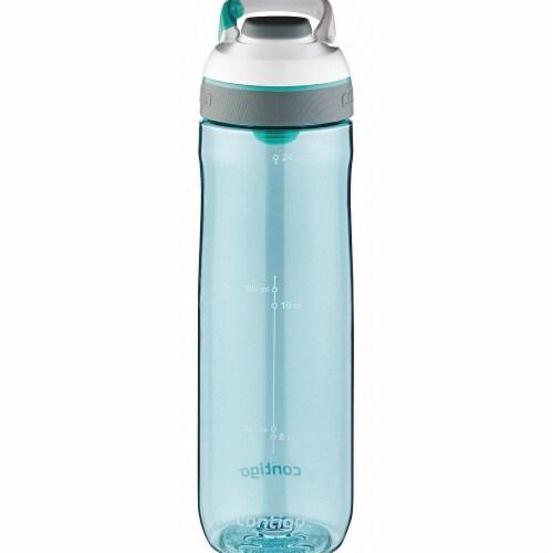 Contigo Water Bottle - Teal Perspective: front