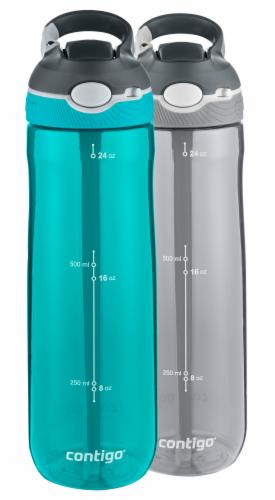 Contigo AUTOSPOUT Straw Ashland 24oz 2pk Water Bottle