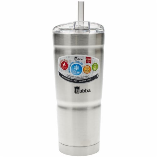 Contigo Envy Stainless Steel Water Bottle, Smoke Perspective: front