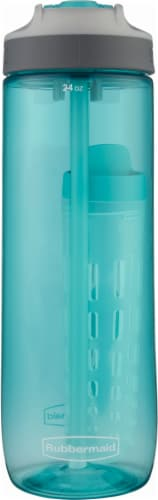 Rubbermaid Sip Water Bottle - 24 oz - Aqua Waters Perspective: front