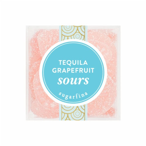 Sugarfina Small Casamigos Tequila Grapefruit Sours Perspective: front