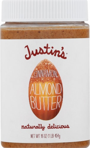 Justin's Cinnamon Almond Butter Perspective: front