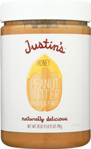 Justin's Honey Peanut Butter Spread Perspective: front