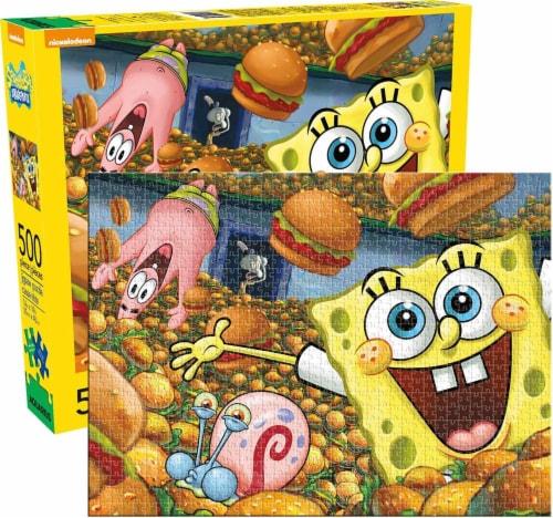 SpongeBob SquarePants 500 Piece Jigsaw Puzzle Perspective: front