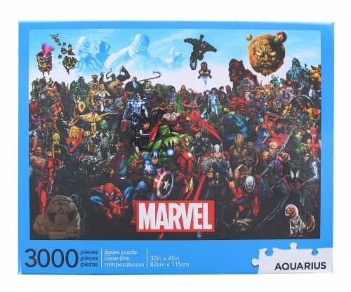 Marvel Cast 3000 Piece Jigsaw Puzzle Perspective: front