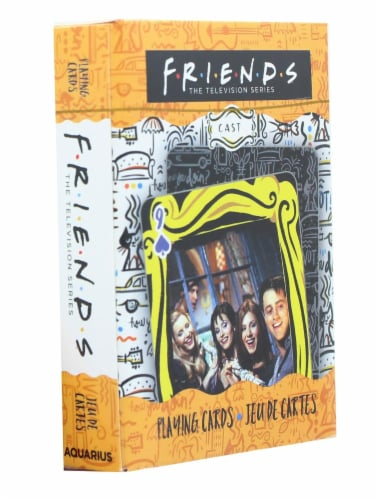 Friends Cast Playing Cards | 52 Card Deck + 2 Jokers Perspective: front