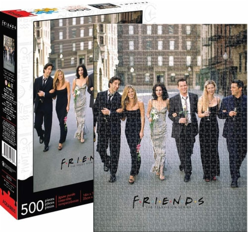 Friends Wedding 500 Piece Jigsaw Puzzle Perspective: front