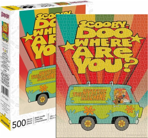Scooby-Doo Where Are You? 500 Piece Jigsaw Puzzle Perspective: front