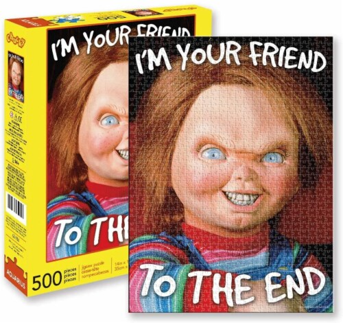 Childs Play Chucky 500 Piece Jigsaw Puzzle Perspective: front