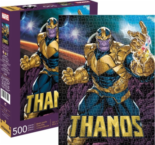 Marvel Thanos 500 Piece Jigsaw Puzzle Perspective: front
