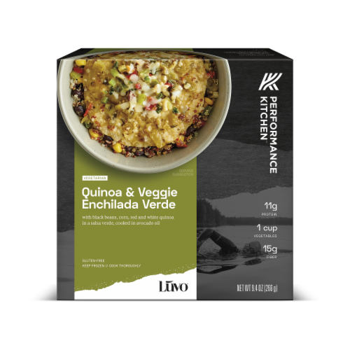 Luvo Performance Kitchen Quinoa & Veggie Enchilada Verde Meal Perspective: front