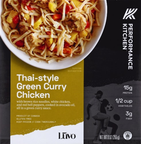 Luvo Performance Kitchen Thai-Style Green Curry Chicken Perspective: front