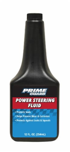 Prime Guard Power Steering Fluid Perspective: front