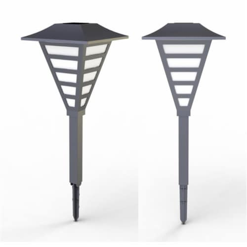 Living Accents 3532363 Solar Powered LED Pathway Light - Case of 6 Perspective: front