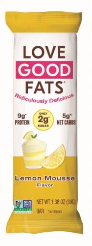 Love Good Fats Lemon Mousse Bar Perspective: front