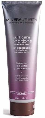 Mineral Fusion  Curl Care Conditioner Perspective: front