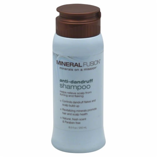 Mineral Fusion Anti-Dandruff Mineral Shampoo Perspective: front