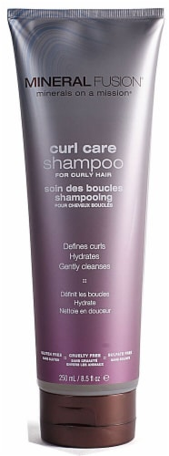 Mineral Fusion  Curl Care Shampoo Perspective: front