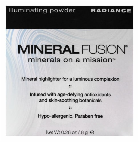 Mineral Fusion Illuminating Powder Radiance Mineral Highlighter Perspective: front