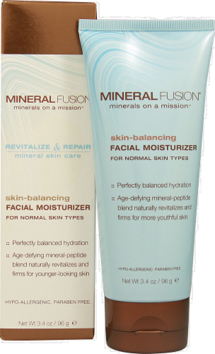 Mineral Fusion Skin-Balancing Facial Moisturizer Perspective: front