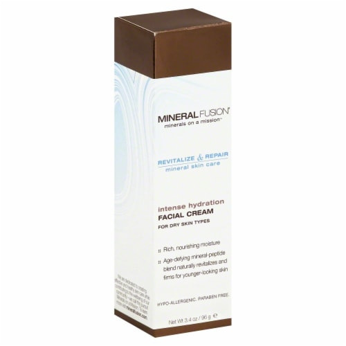 Mineral Fusion Intense Hydration Face Cream Perspective: front