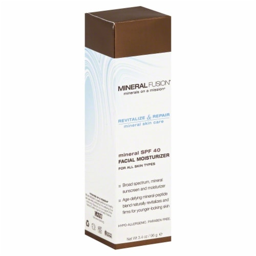Mineral Fusion Facial Moisturizer SPF 40 Perspective: front
