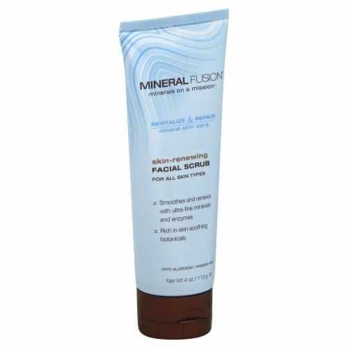 Mineral Fusion Skin Renew Face Scrub Perspective: front