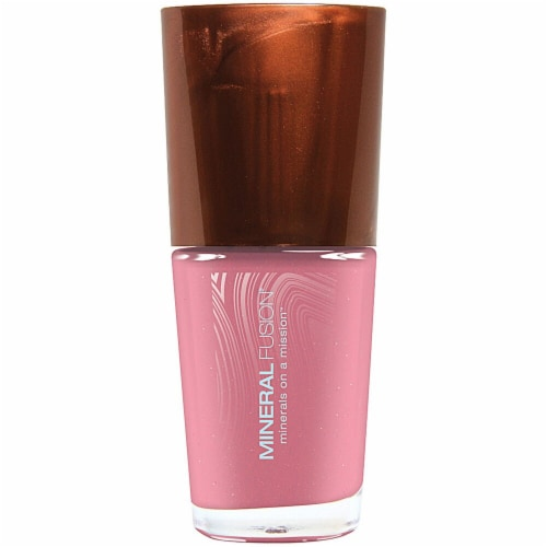 Mineral Fusion Pale Pink Nail Polish Perspective: front